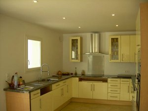 kitchen of villa for sale