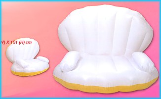 Clam shell chair - Http Www Antibes Co Uk Inflatables Ok E1851897721 Htm