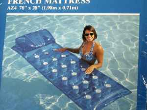 transparent air mattress