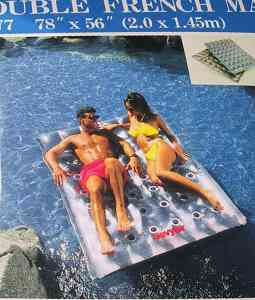 Sevylor 36 pocket double air mattress